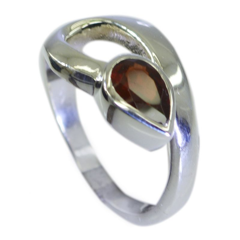 Buy Riyo Garnet 0.925 Sterling Silver Finger Armor Ring Jewelry Sz 7 Srgar7-26081 online
