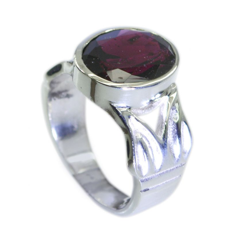 Buy Riyo Garnet 925 Silver Mothers Ring Jewelry Sz 7 Srgar7-26083 online