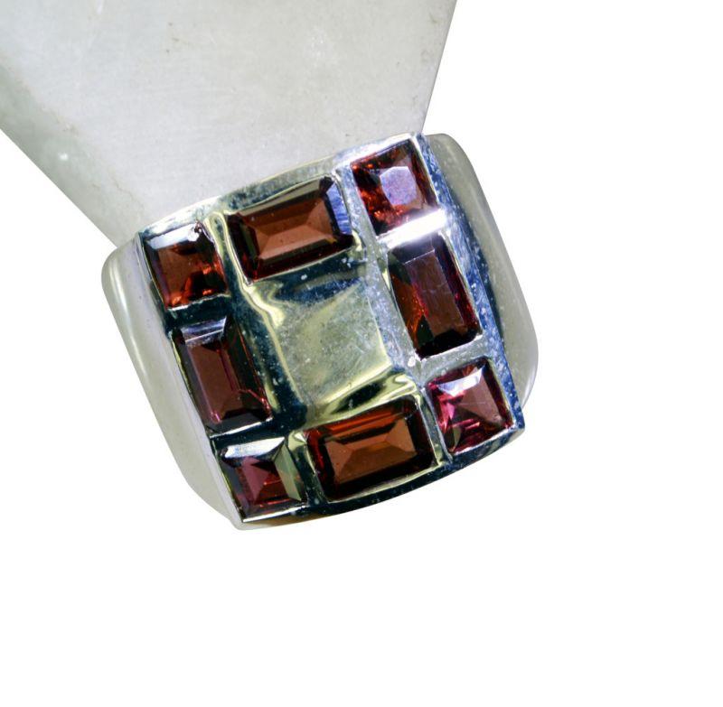 Buy Riyo Garnet Elegant Silver Jewelry Custom Silver Ring Sz 7 Srgar7-26169 online