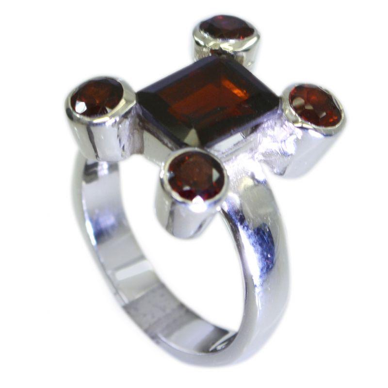 Buy Riyo Garnet Silver Sterling Mori Ring Jewelry Sz 7.5 Srgar7.5-26094 online