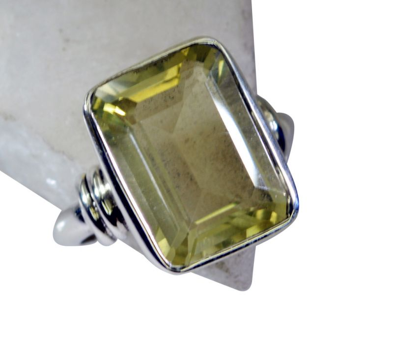 Buy Riyo Lemon Quartz Silver City Jewelry Wedding Bands Sz 6 Srlqu6-46003 online