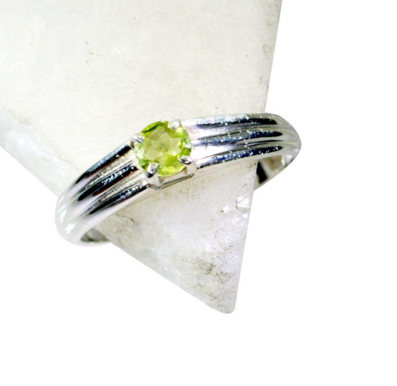 Buy Riyo Peridot Silver Jewelry For Sale Regards Ring Sz 7 Srper7-58030 online