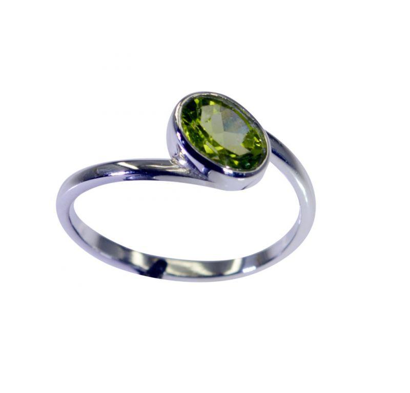 Buy Riyo Peridot Silver Jewelry Online Shopping Ring Sz 7 Srper7-58049 online