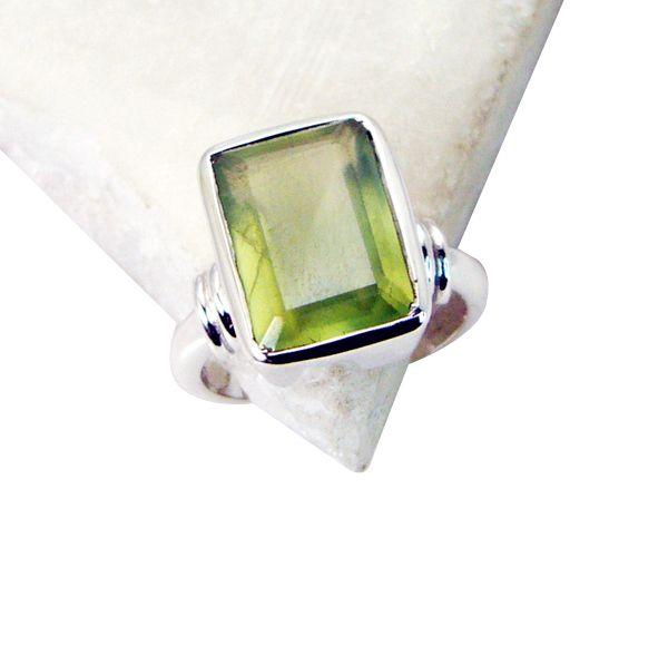 Buy Riyo Prehnite Silver Jewelry Sale Promise Ring Sz 6 Srpre6-60001 online