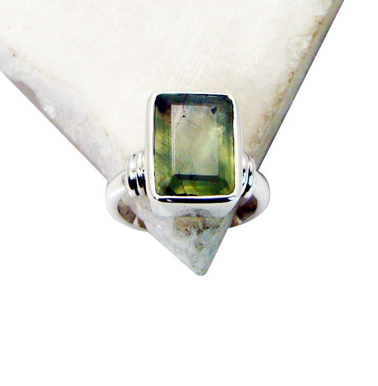 Buy Riyo Prehnite Silver Jewelry Party Birthstones Ring Sz 6.5 Srpre6.5-60002 online