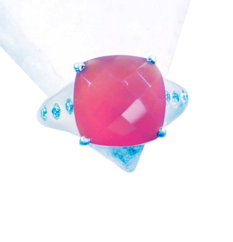 Buy Riyo Red Onyx Silver Jewelry Wire Mothers Ring Sz 7.5 Srron7.5-66004 online