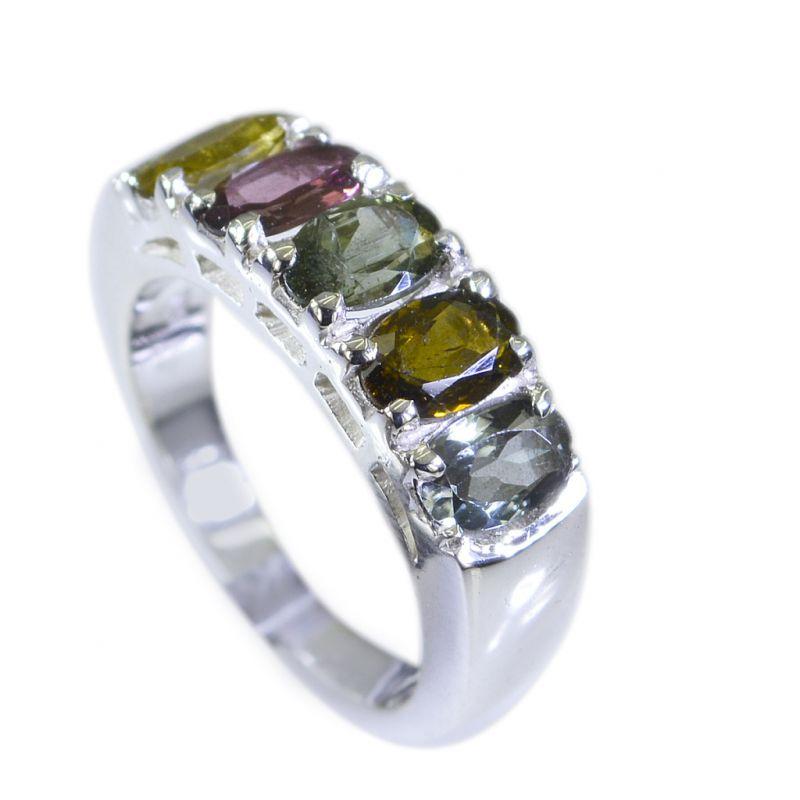 Buy Riyo Tourmaline Village Silver Jewelry Silver Mesh Ring Sz 5.5 Srtou5.5-84011 online
