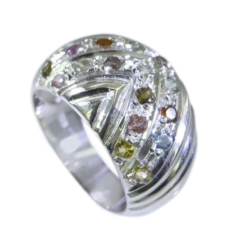 Buy Riyo Tourmaline Vintage Silver Jewellery Silver Mothers Ring Sz 5.5 Srtou5.5-84012 online