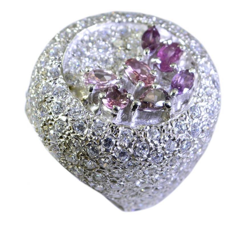Buy Riyo Tourmaline Wholesale Silver 925 Silver Ring Designs Sz 6 Srtou6-84020 online