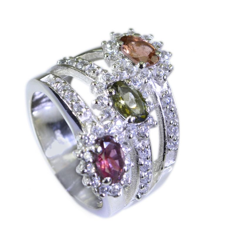 Buy Riyo Tourmaline Wholesale Silver Suppliers Silver Ring Setting Sz 6 Srtou6-84027 online