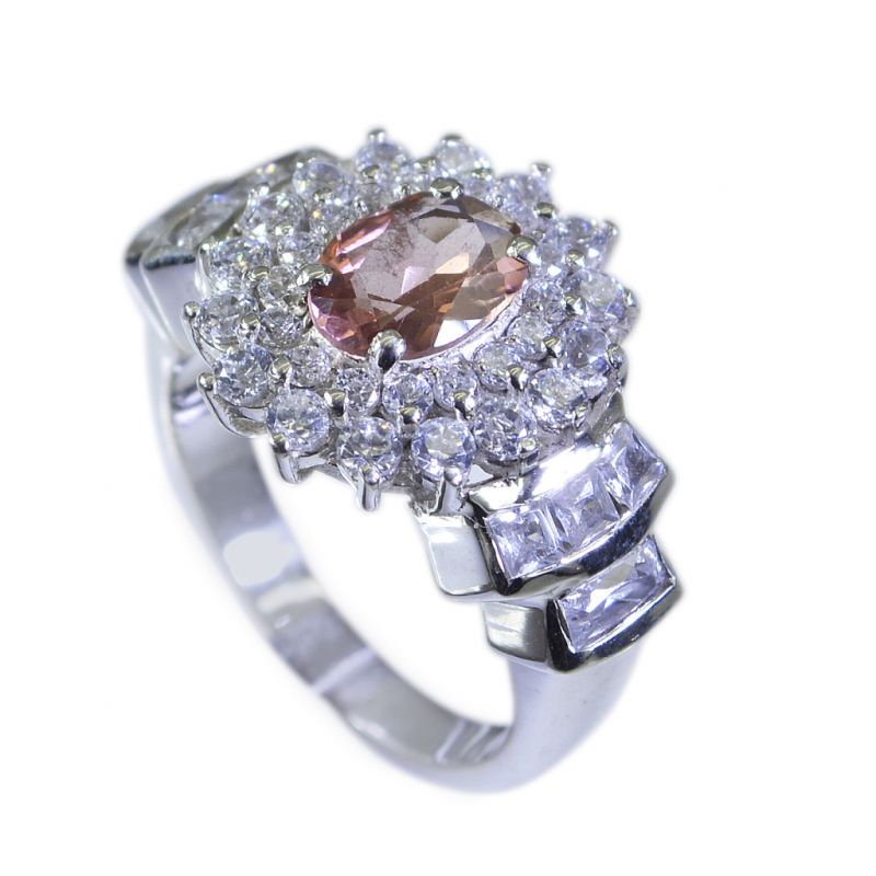 Buy Riyo Tourmaline Wholesale Silver Uk Silver Ring Settings Sz 6 Srtou6-84029 online