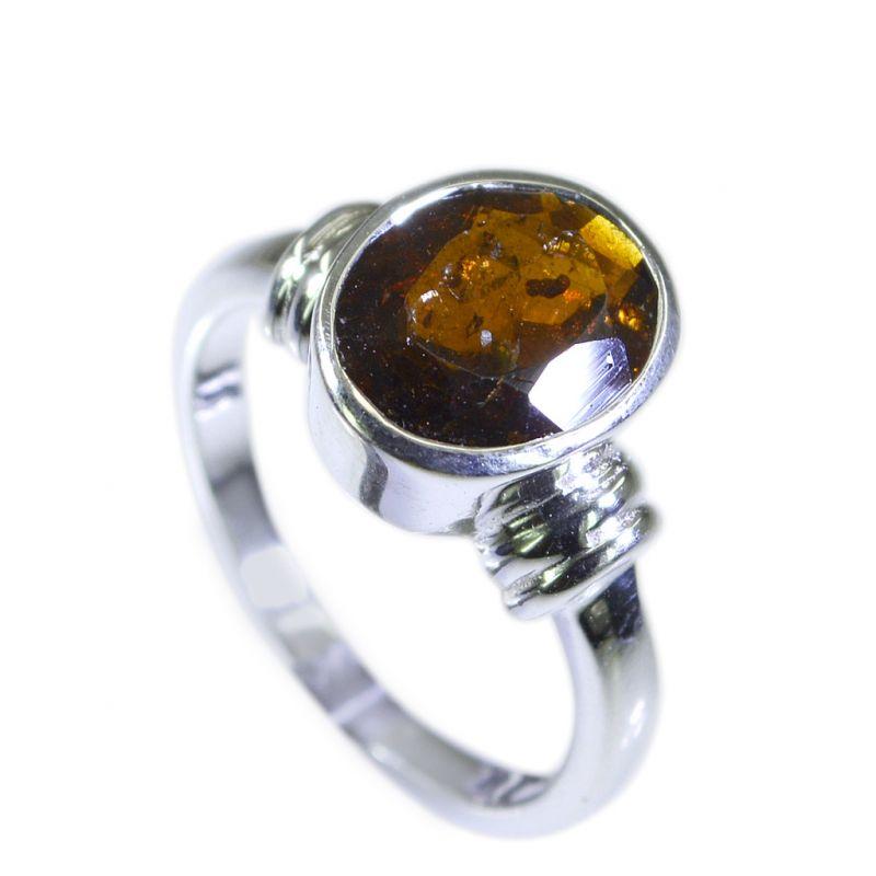 Buy Riyo Tourmaline 92.5 Sterling Silver Silver Stacking Ring Sz 6 Srtou6-84035 online