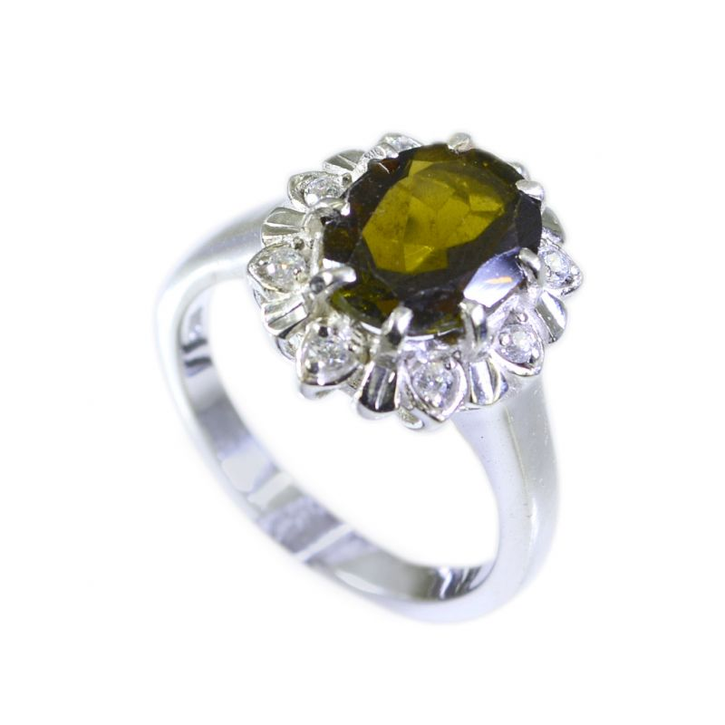Buy Riyo Tourmaline 92.5 Silver Silver Toe Ring Jewelry Sz 6 Srtou6-84038 online