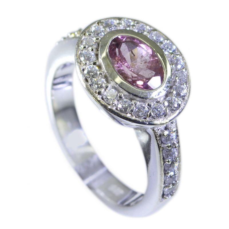 Buy Riyo Tourmaline 925 Solid Silver Solid Silver Ring Sz 6 Srtou6-84044 online