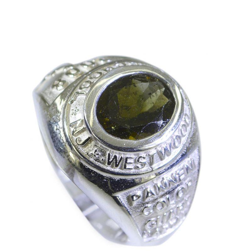 Buy Riyo Tourmaline Best Silver Jewelry Mothers Ring Sz 7 Srtou7-84069 online