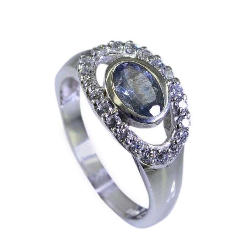 Buy Riyo Tourmaline Boutique Silver Jewellery Sovereign Ring Sz 7 Srtou7-84073 online