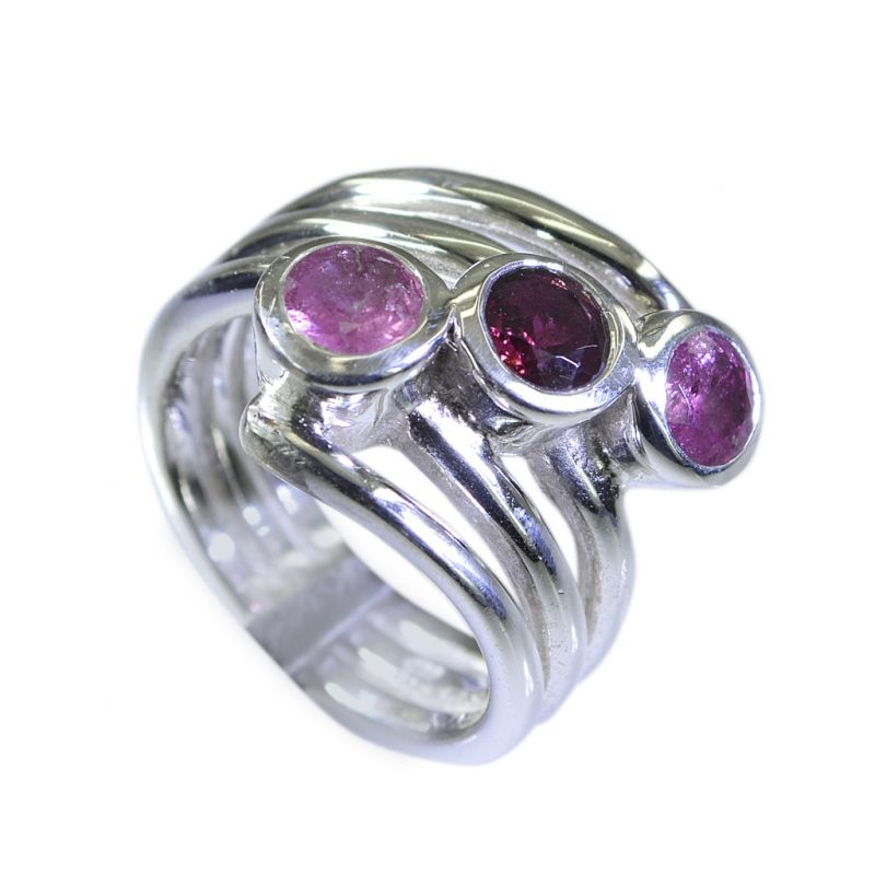Buy Riyo Tourmaline Buy Silver Jewellery Purity Ring Jewelry Sz 7 Srtou7-84077 online
