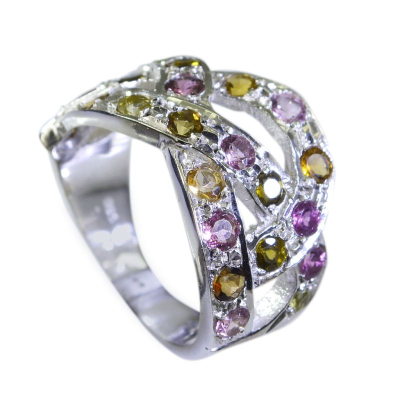 Buy Riyo Tourmaline Silver Jewellery Ring Sz 7.5 Srtou7.5-84123 online