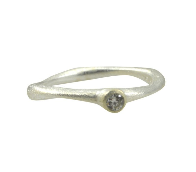 Buy Riyo Cz925 Solid Sterling Silver Delicate Ring Srwhcz50-110028 online