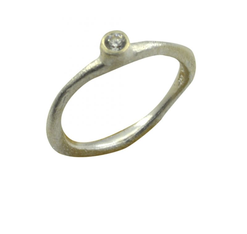 Buy Riyo Cz925 Solid Sterling Silver Dependable Ring Srwhcz55-110029 online