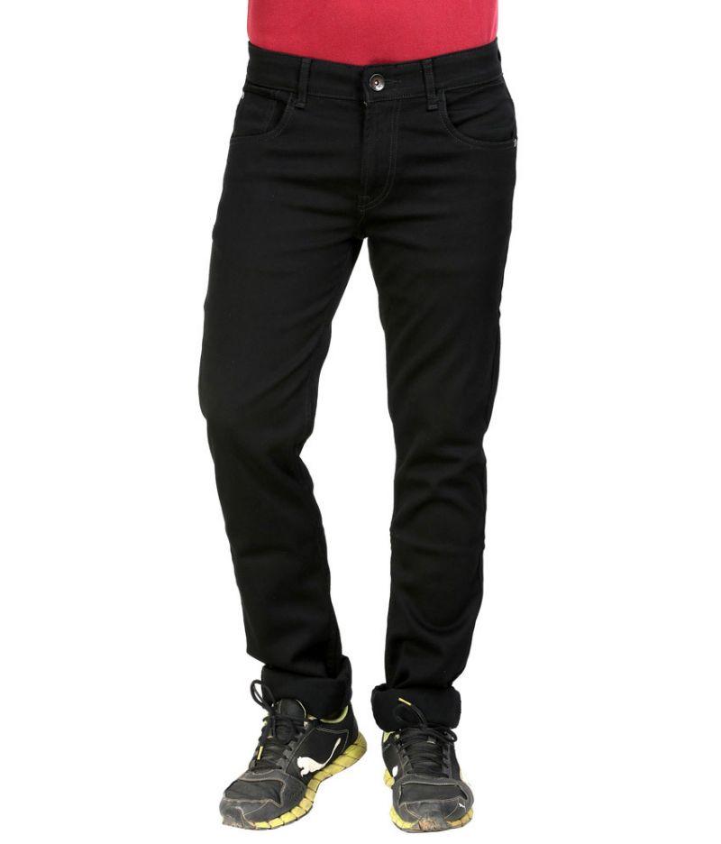 Buy Masterly Weft Black Cotton Blend Men D-jeng-1 online