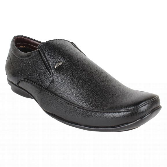 Buy Firemark Mens Artificial Leather Black Slip On Formal Shoes - (product Code - Frical-3018-fr-blk2391) online