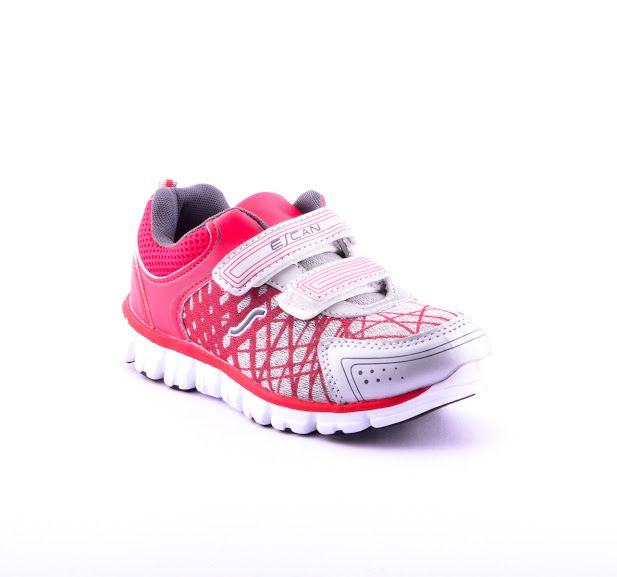 Buy Escan Kids Vibrant Red Sports Shoes online