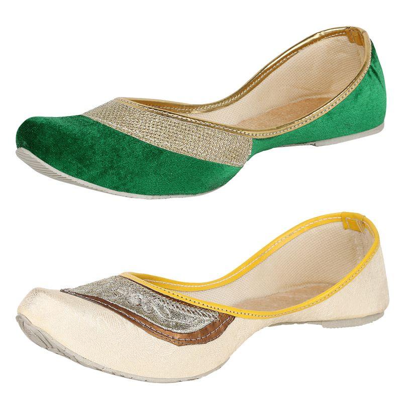 Buy Calaso Womens Gorgeous Designer Jutti (ss-217_225) online