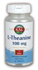 Buy Kal- L-theanine 100mg - 30 Tablet online