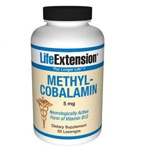 Buy Life Extension Methylcobalamin 5 Mg Lozenges, 60-count online