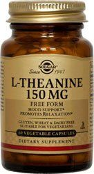 Buy L Theanine 150 Mg Solgar 60 Vcaps online