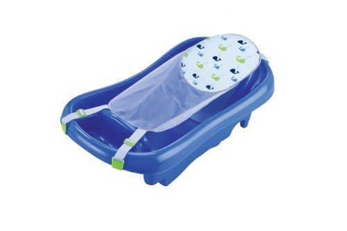 Buy The First Years Infant To Toddler Tub With Sling, Blue Color Blue Newborn, Kid, Child, Childern, Infant, Baby online