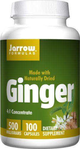Buy Jarrow Formulas Ginger 500mg, 100 Capsules online