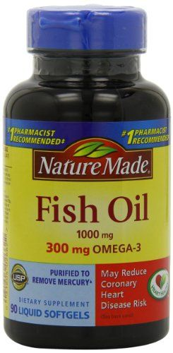 Buy Nature Made Fish Oil,1000 Mg, 300 Mg Omega-3, 90-count online