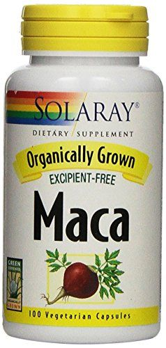 Buy Solaray Organically Grown Maca Root Supplement, 500 Mg, 100 Count online