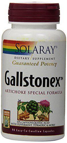 Buy Solaray Gallstonex-artichoke Special Formula Supplement, 450 Mg, 90 Count online