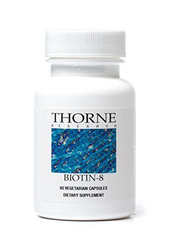 Buy Thorne Research - Biotin 8 - 60 Vegetarian Capsules online