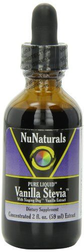 Buy Nunaturals Pure Liquid Vanilla Stevia 2 Ounces online