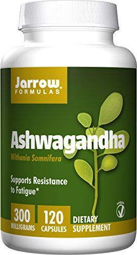 Buy Jarrow Formulas Ashwagandha 300mg, 120 Veggie Caps online