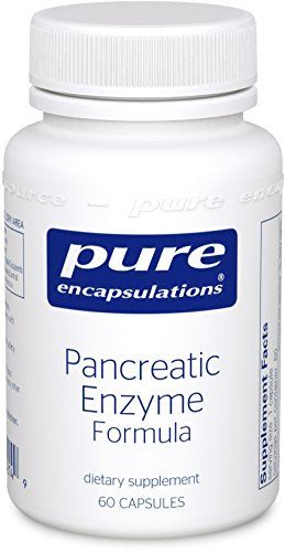 Buy Pure Encapsulations - Pancreatic Enzyme 60's - IMPROVED online