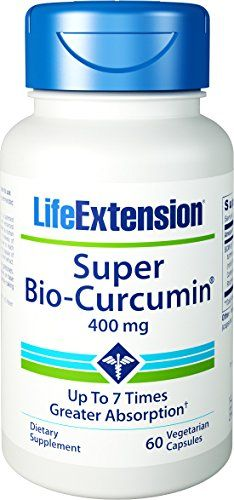 Buy Life Extension Super Bio-curcumin, 400mg, Vegetarian Capsules, 60-count online
