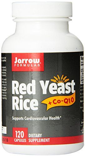 Buy Jarrow Formulas Complementary Red Yeast Rice (600 mg)  Co-Q10 Formula (50 mg), 120 Count online