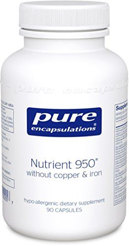Buy Pure Encapsulations - Nutrient 950 W/o Cu & Fe 90