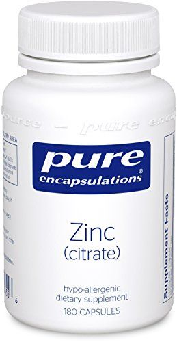 Buy Pure Encapsulations - Zinc (citrate) 180's Health and Beauty online