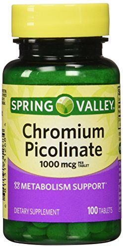 Buy Spring Valley - Chromium Picolinate 1000 Mcg, 100 Tablets online