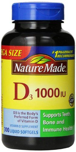 Buy Nature Made Vitamin D3 1000 IU online