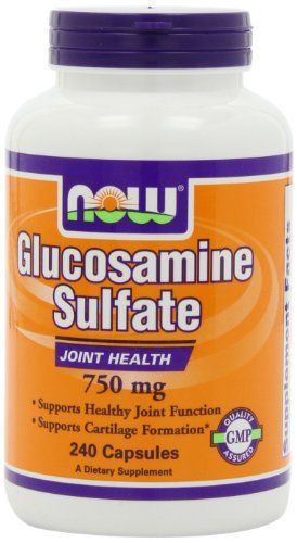 Buy Now Foods Glucosamine Sulfate 750mg, 240 Capsules online