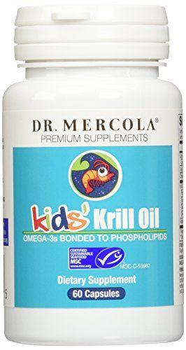 Buy Mercola Krill Oil Kids - 60 Capsules online