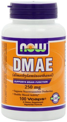 Buy Now Foods Dmae, 100 Capsules / 250mg online