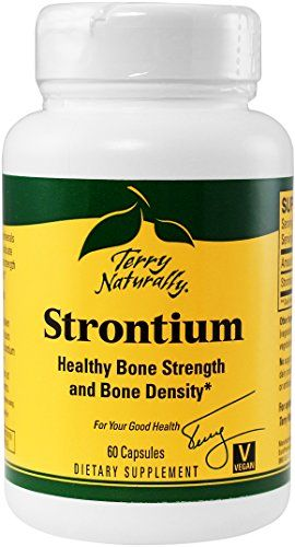 Buy Terry Naturally Strontium, 60 Capsules online